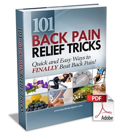 101 Back Pain Relief Tricks Sale $14.95 Jesse Cannone :