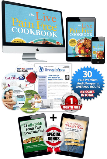 Live Pain Free Cookbook