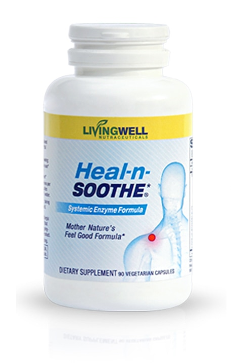 LivingWell Heal-n-Soothe Bottle