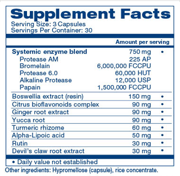 LivingWell Supplement Facts
