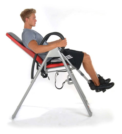 HIGHEST RATED Seated Inversion Therapy Table For Back