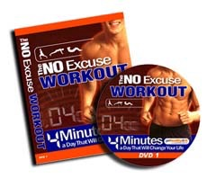 No Excuse Workout DVD's